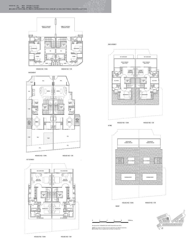 Whitley Residences Whitley Residences floorplan type 139A