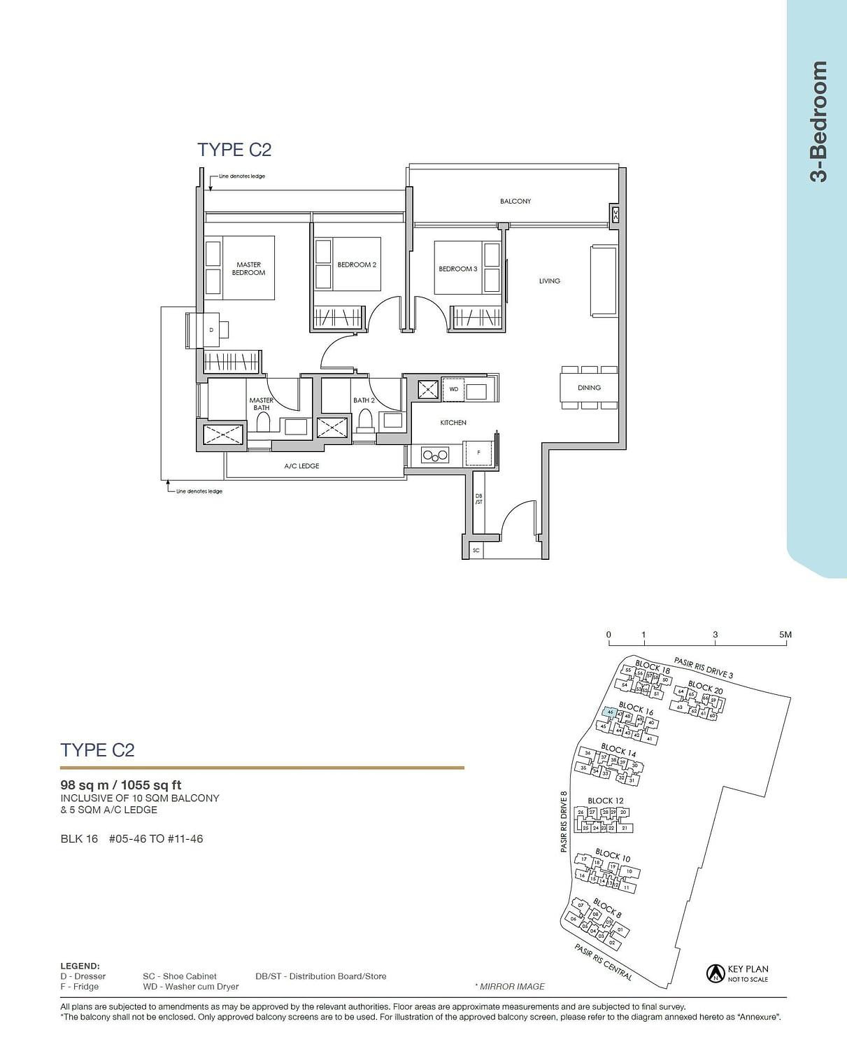 Pasir Ris 8 Pasir Ris 8 Floorplan C2