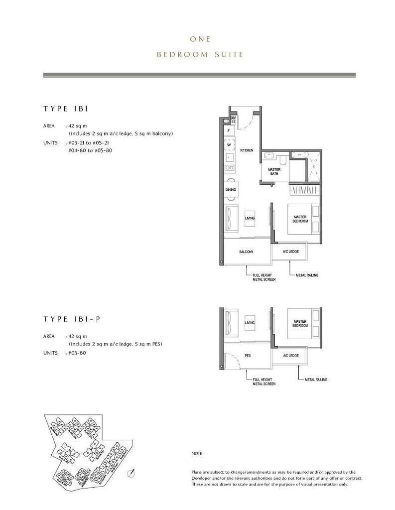 Parc Komo Parc Komo floorplan type 1B1 P