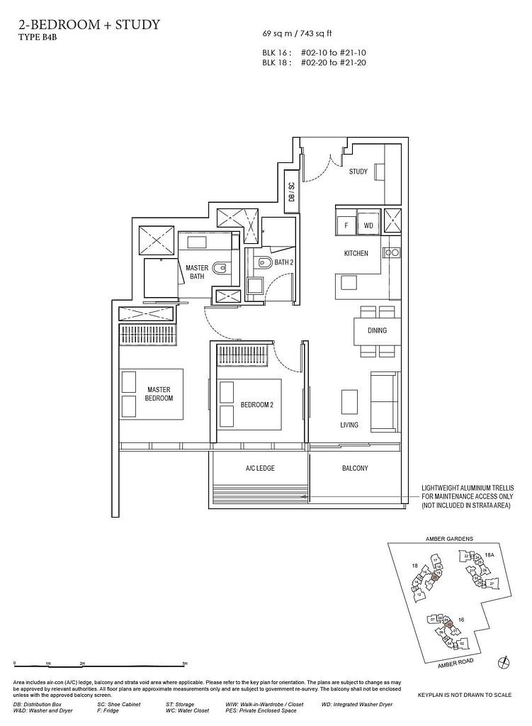 Amber Park Amber Park floorplan layout B4B