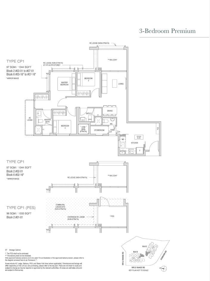 Mayfair Modern Mayfair Modern floorplan type CP1PES