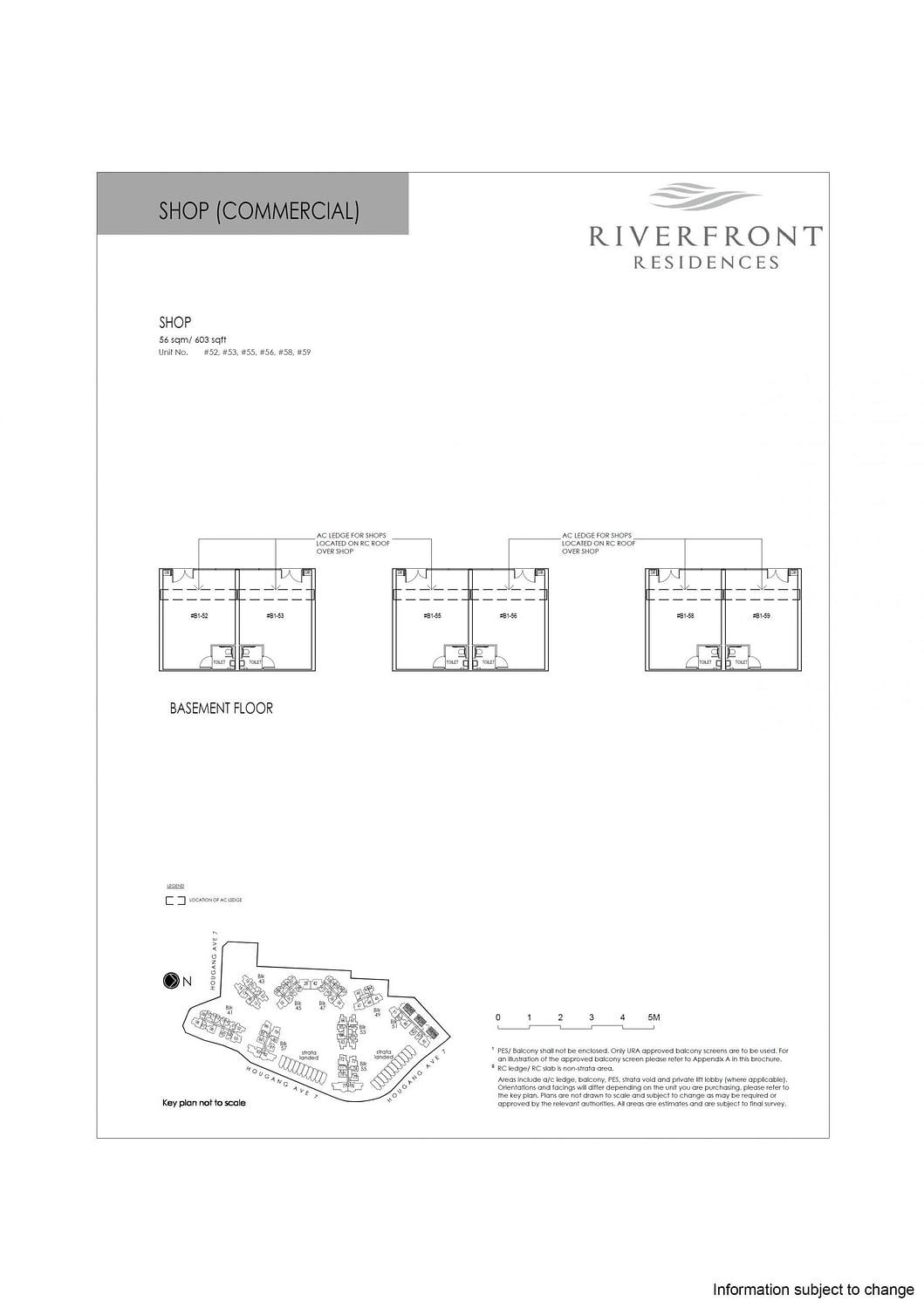 Riverfront Residences Riverfront Residences Floorplan SHOP scaled