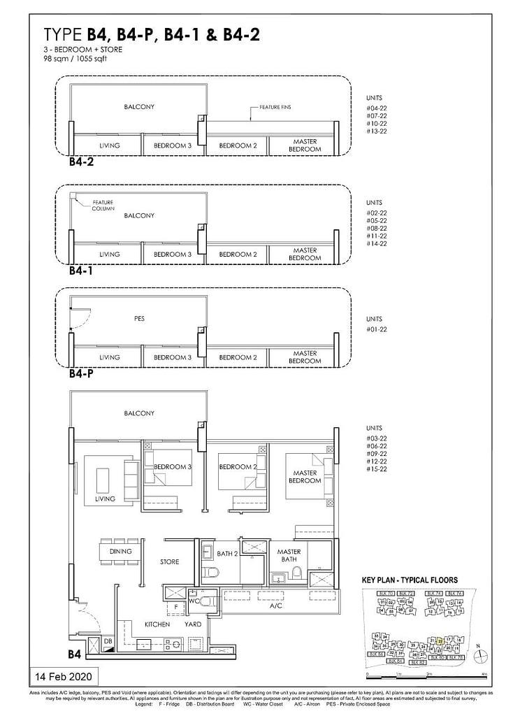 OLÁ OLA floorplan type B4 P