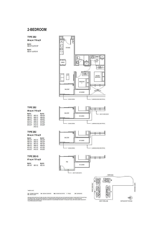Dairy Farm Residences Dairy Farm Residences floorplan 2B2 G
