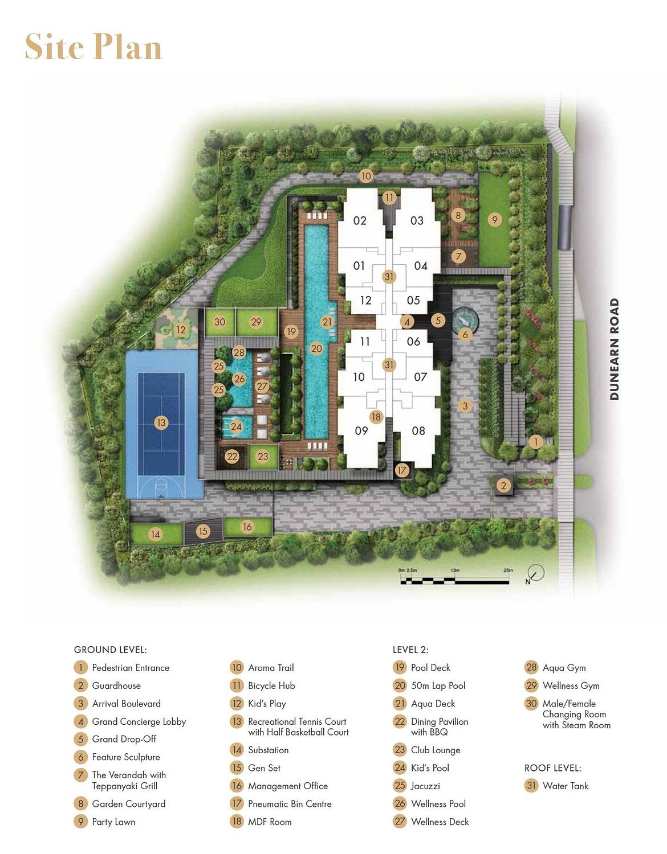 Pullman Residence Pullman Residence Siteplan
