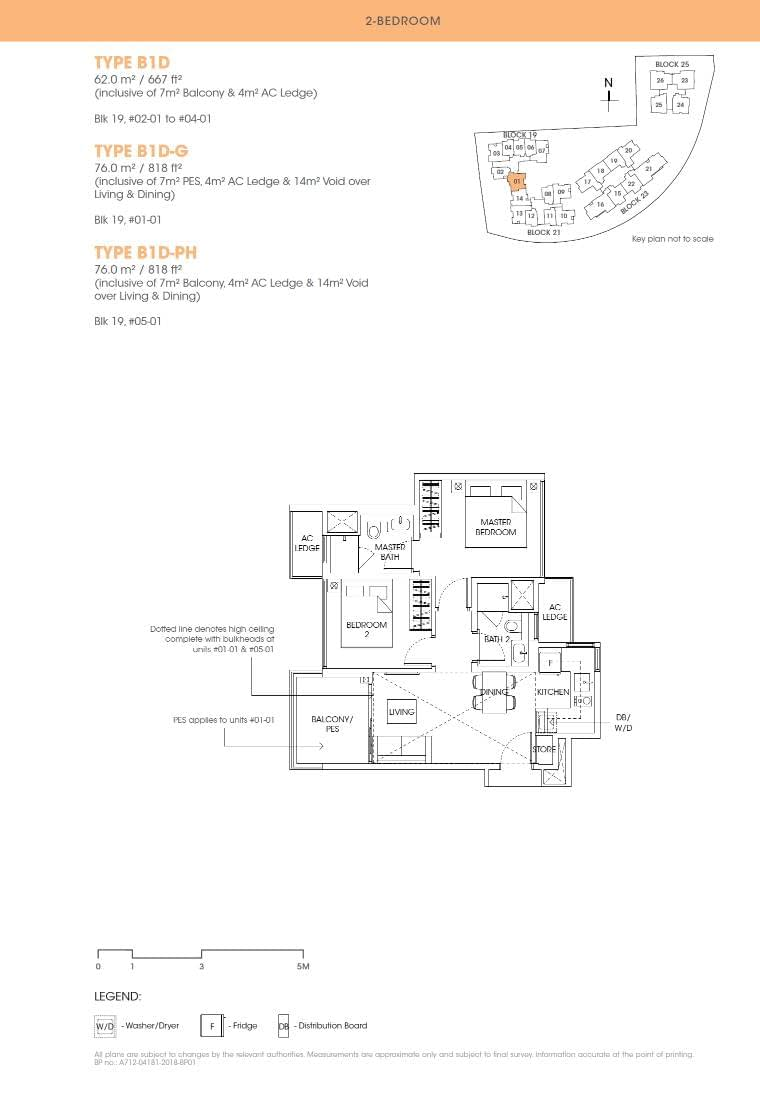 Antares Antares floorplan type B1D G