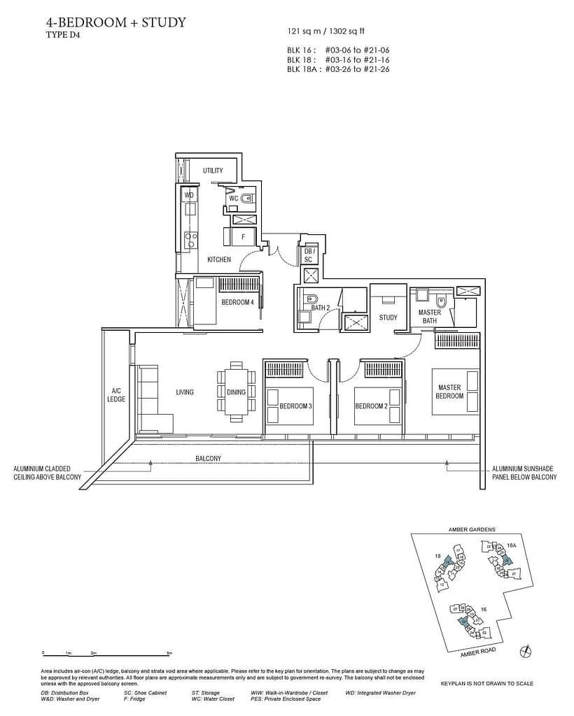 Amber Park Amber Park floorplan layout D4