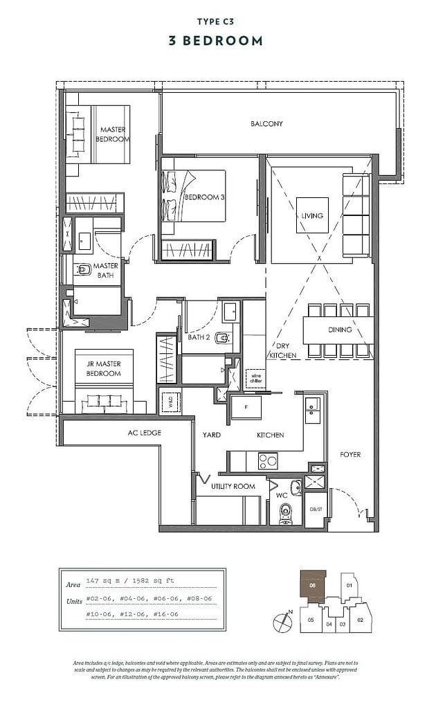 Nyon Nyon floorplan type C3