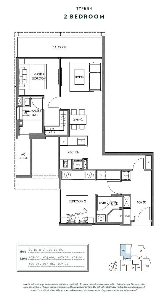 Nyon Nyon floorplan type B4