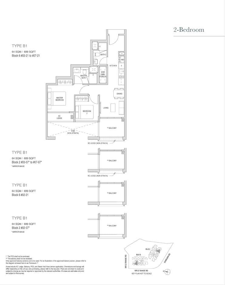 Mayfair Modern Mayfair Modern floorplan type B1