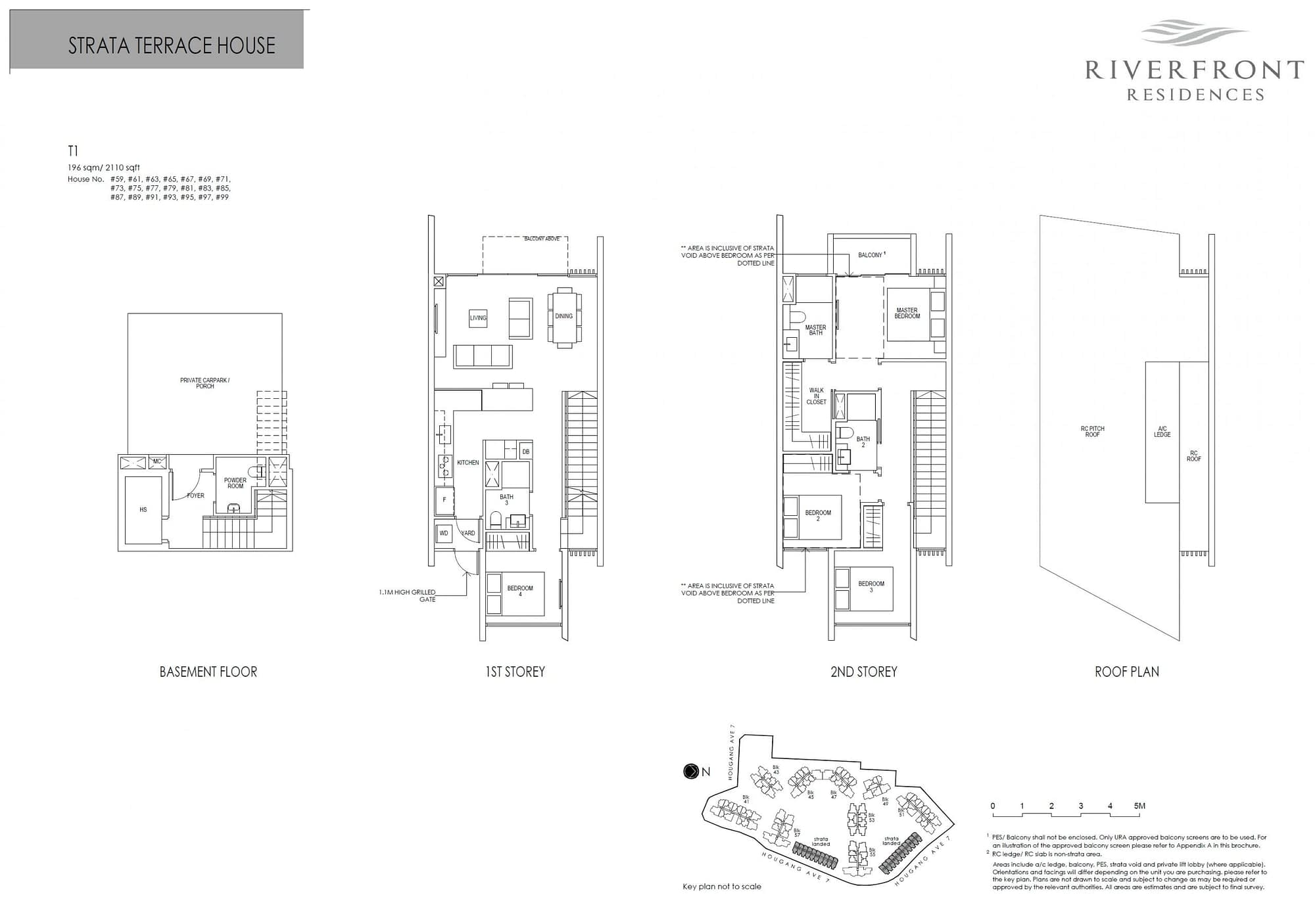 Riverfront Residences Riverfront Residences Floorplan T1 scaled