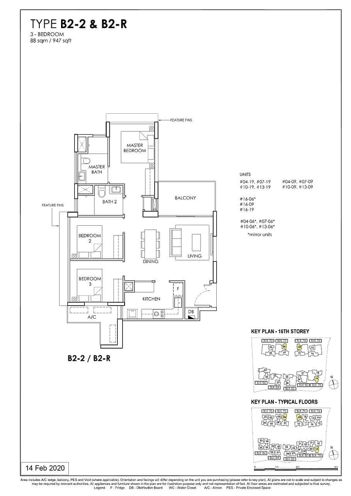 OLÁ OLA floorplan type B2 R