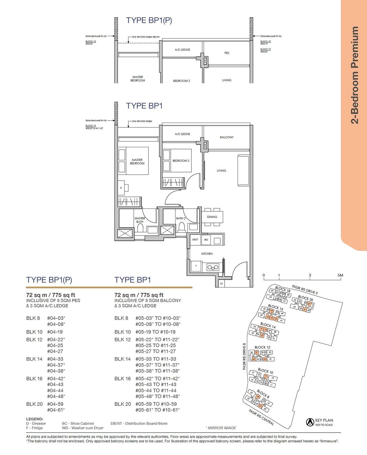 Pasir Ris 8 Pasir Ris 8 Floorplan BP1