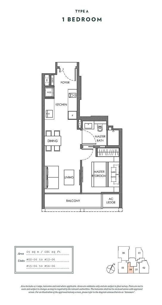 Nyon Nyon floorplan type A