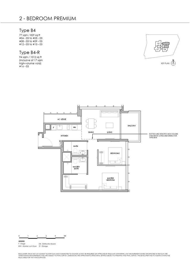 Grange 1866 Grange 1866 floorplan Type B4 R