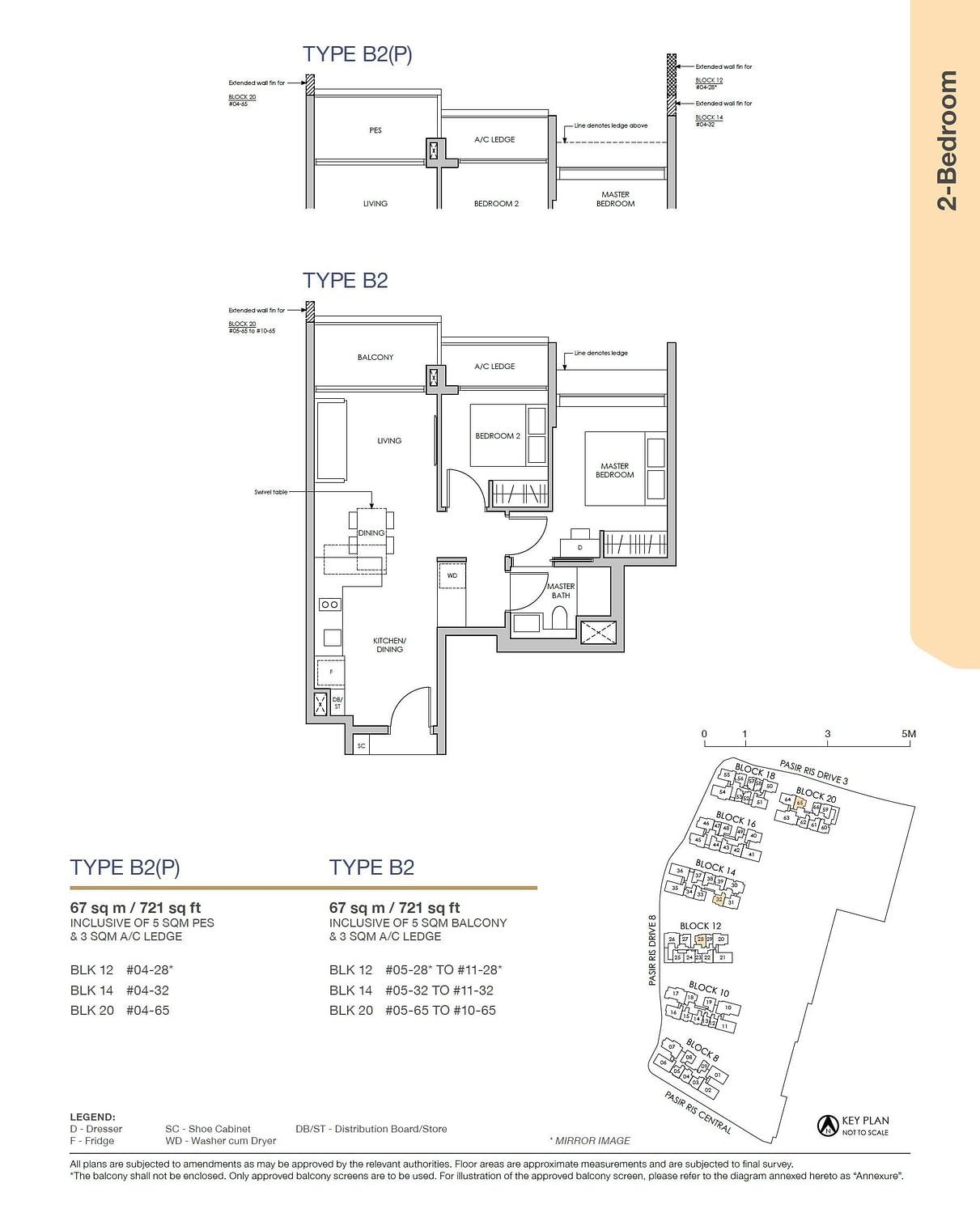 Pasir Ris 8 Pasir Ris 8 Floorplan B2