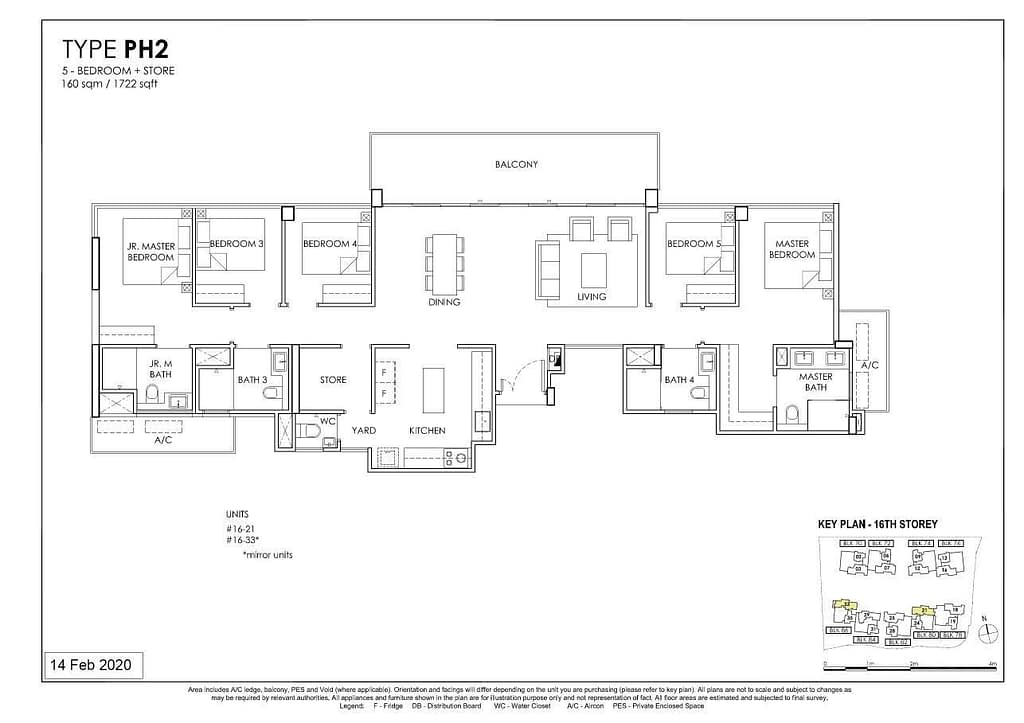 OLÁ OLA floorplan type PH2