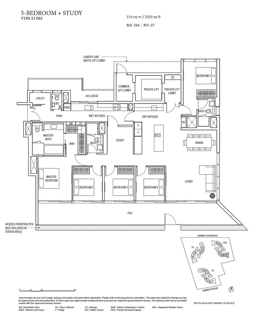 Amber Park Amber Park floorplan layout E3 PES