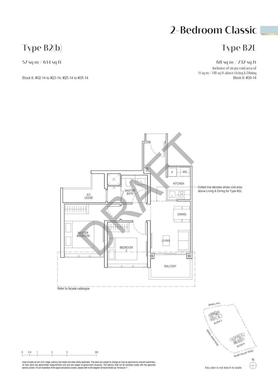 Irwell Hill Residences Irwell Hill Residences floorplan type B2b