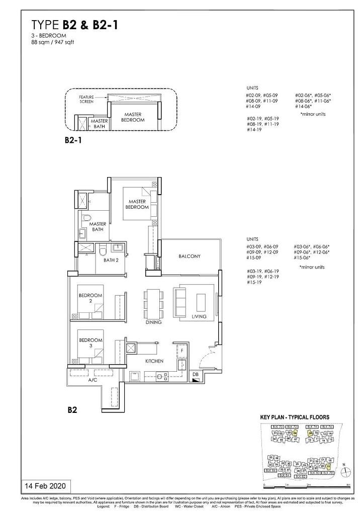 OLÁ OLA floorplan type B2