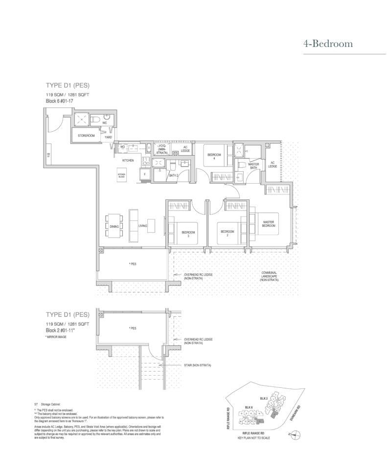 Mayfair Modern Mayfair Modern floorplan type D1PES
