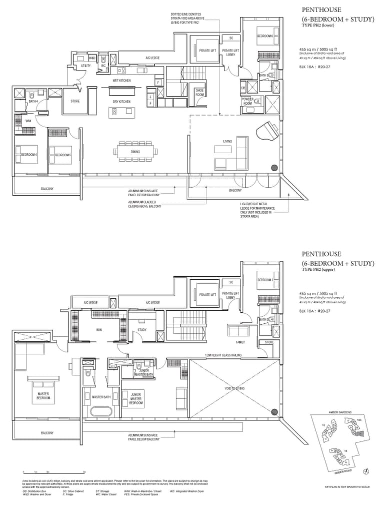 Amber Park Amber Park floorplan layout PH2