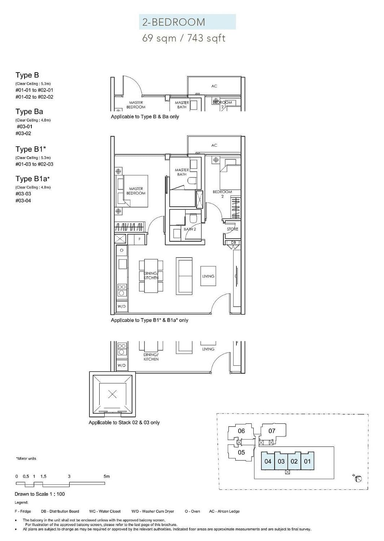 Sloane Residences Sloane Residences Floorplan Ba