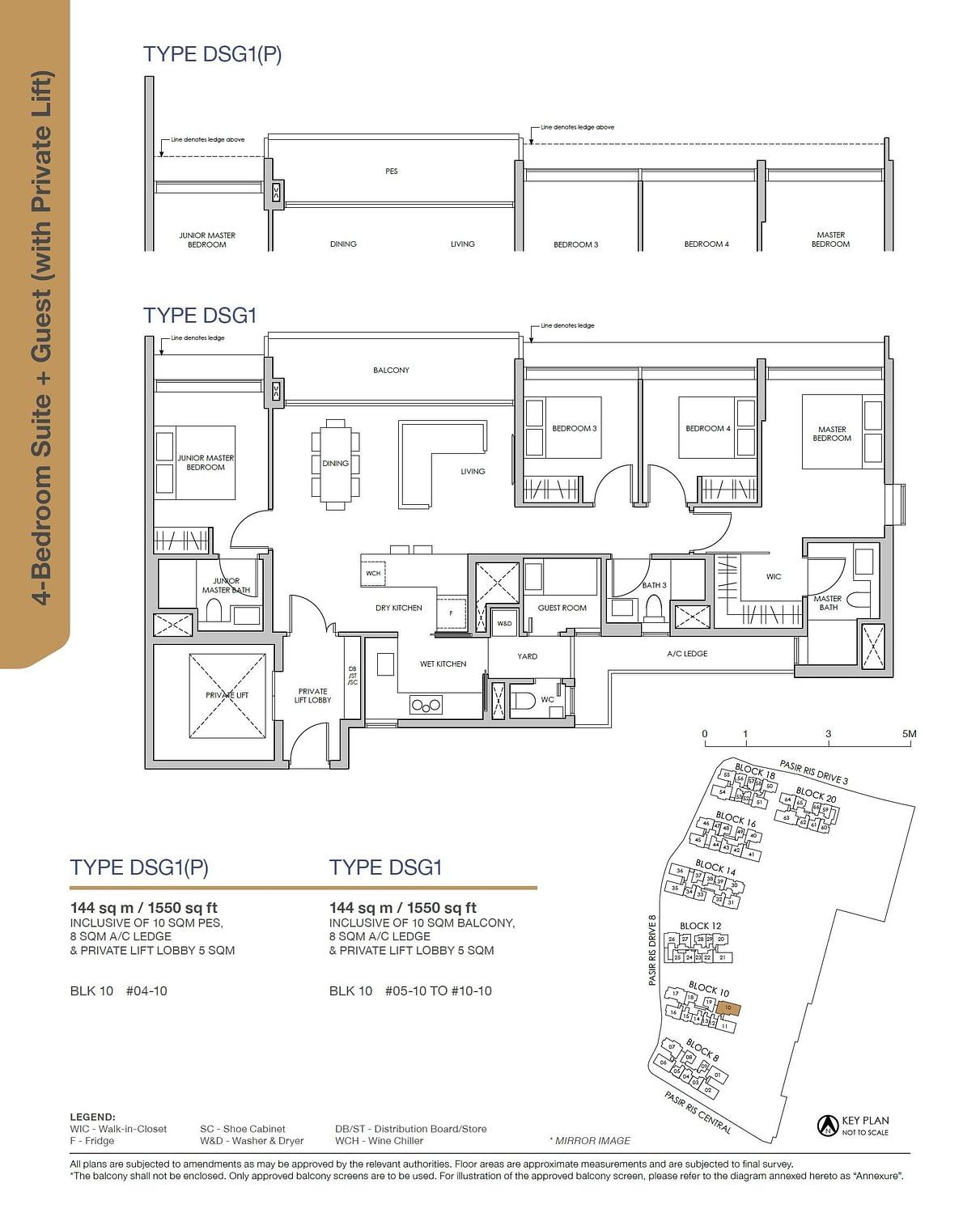 Pasir Ris 8 Pasir Ris 8 Floorplan DSG1P