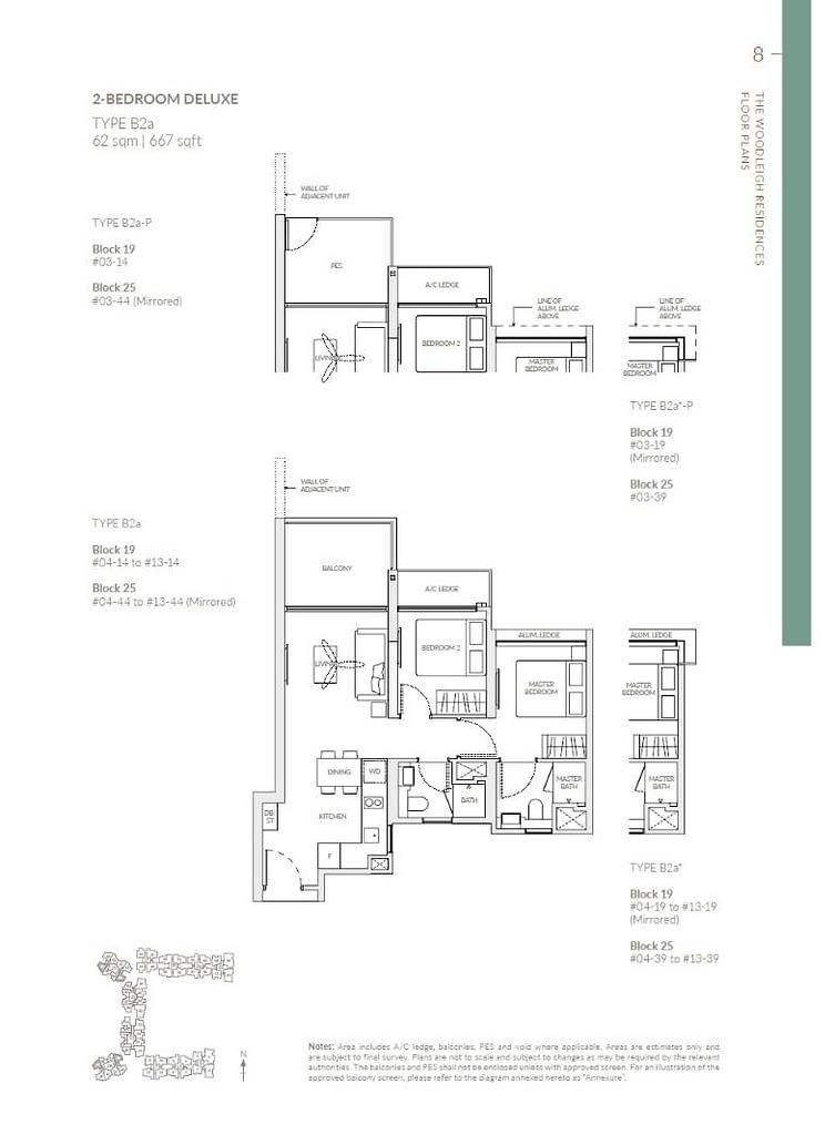 Woodleigh Residences Woodleigh Residences floorplan type B2a