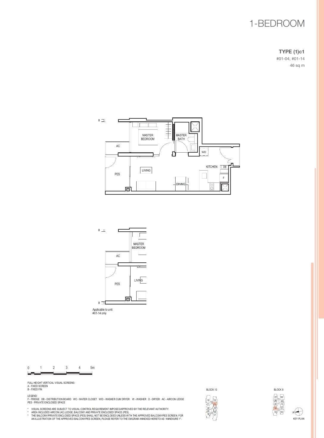 Midwood Midwood Floorplan 1c1