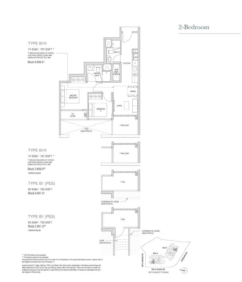 Mayfair Modern Mayfair Modern floorplan type B1PES