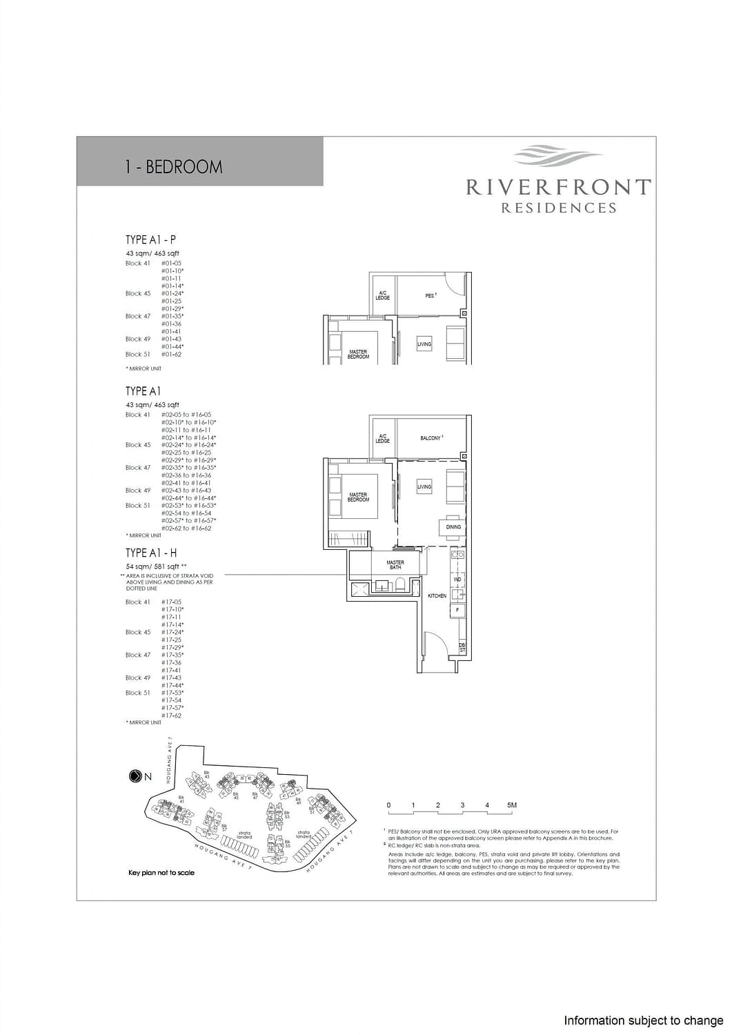 Riverfront Residences Riverfront Residences Floorplan A1 H scaled