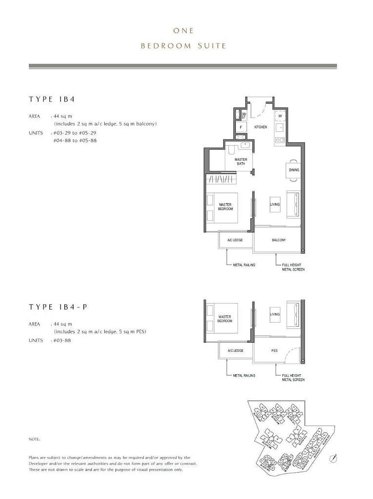 Parc Komo Parc Komo floorplan type 1B4