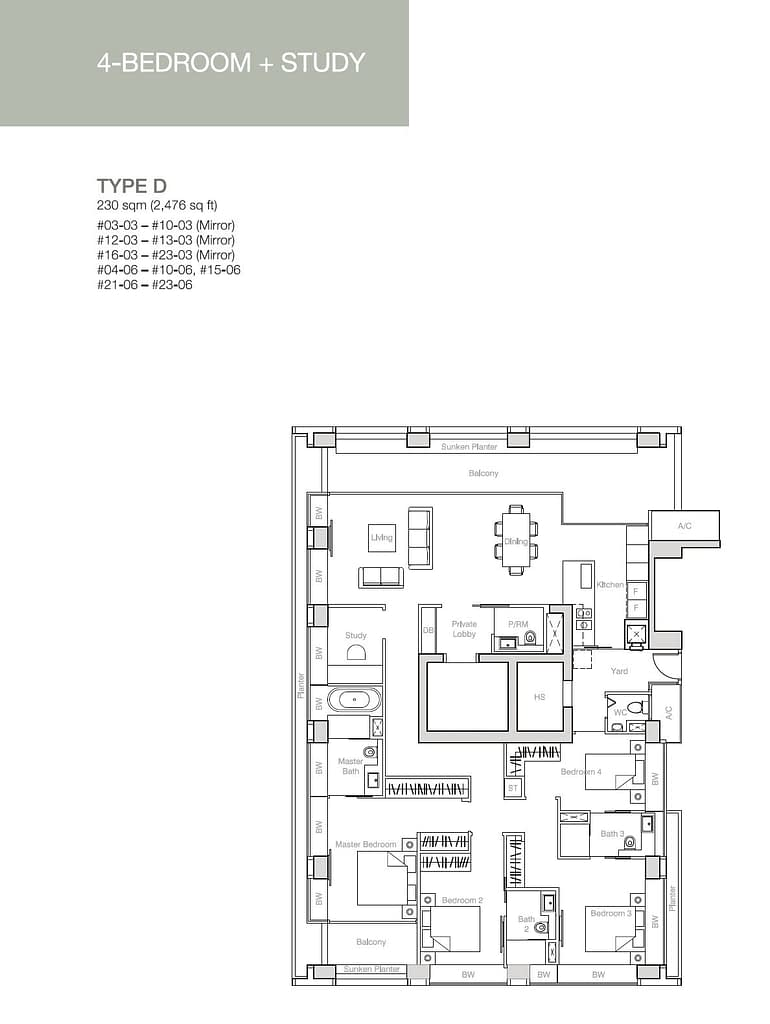 Nouvel 18 Nouvel 18 floorplan typeD