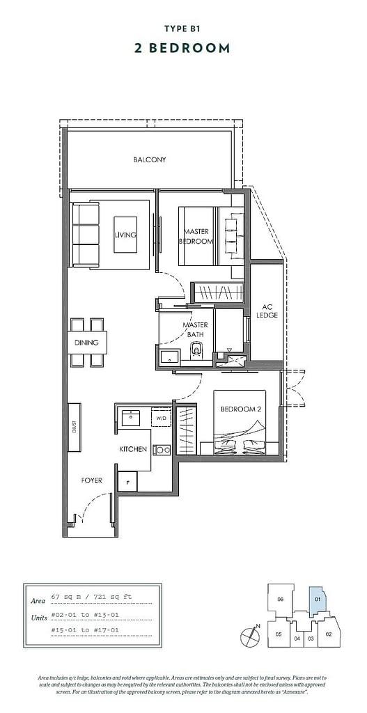 Nyon Nyon floorplan type B1