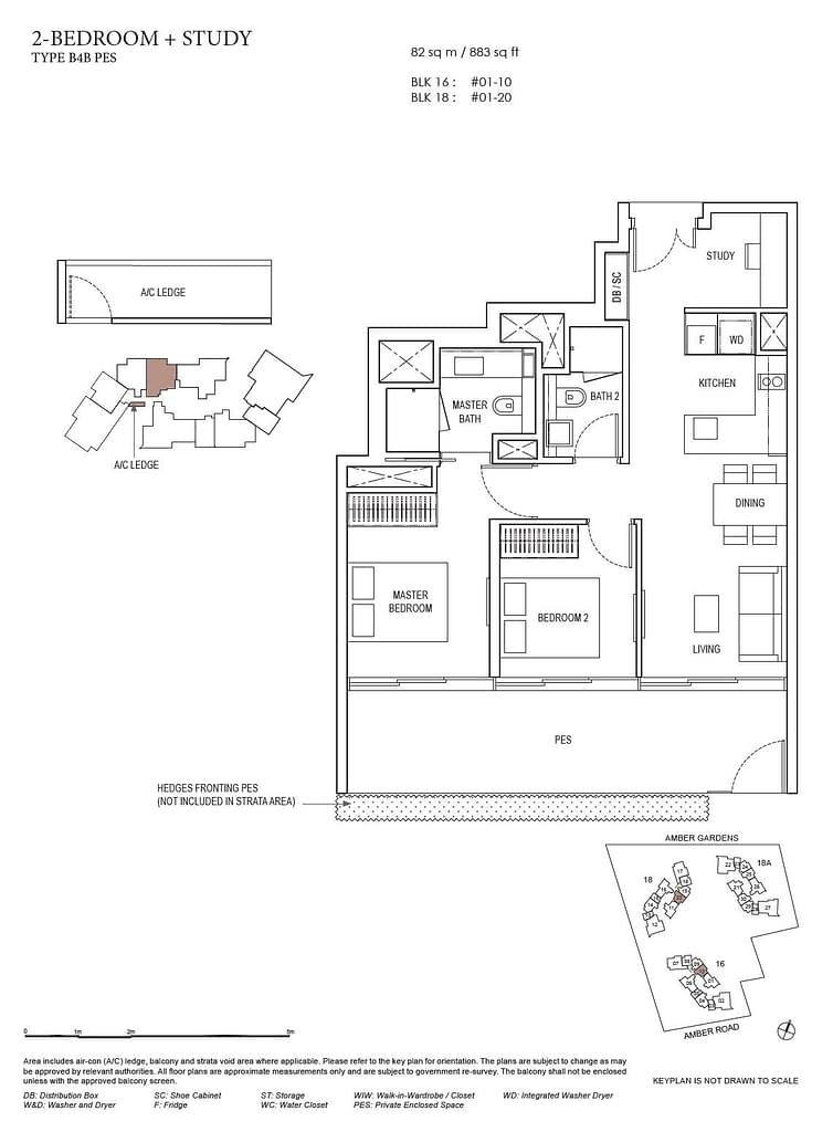 Amber Park Amber Park floorplan layout B4B PES