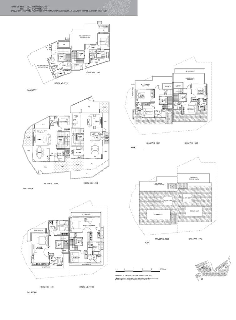 Whitley Residences Whitley Residences floorplan type 139D
