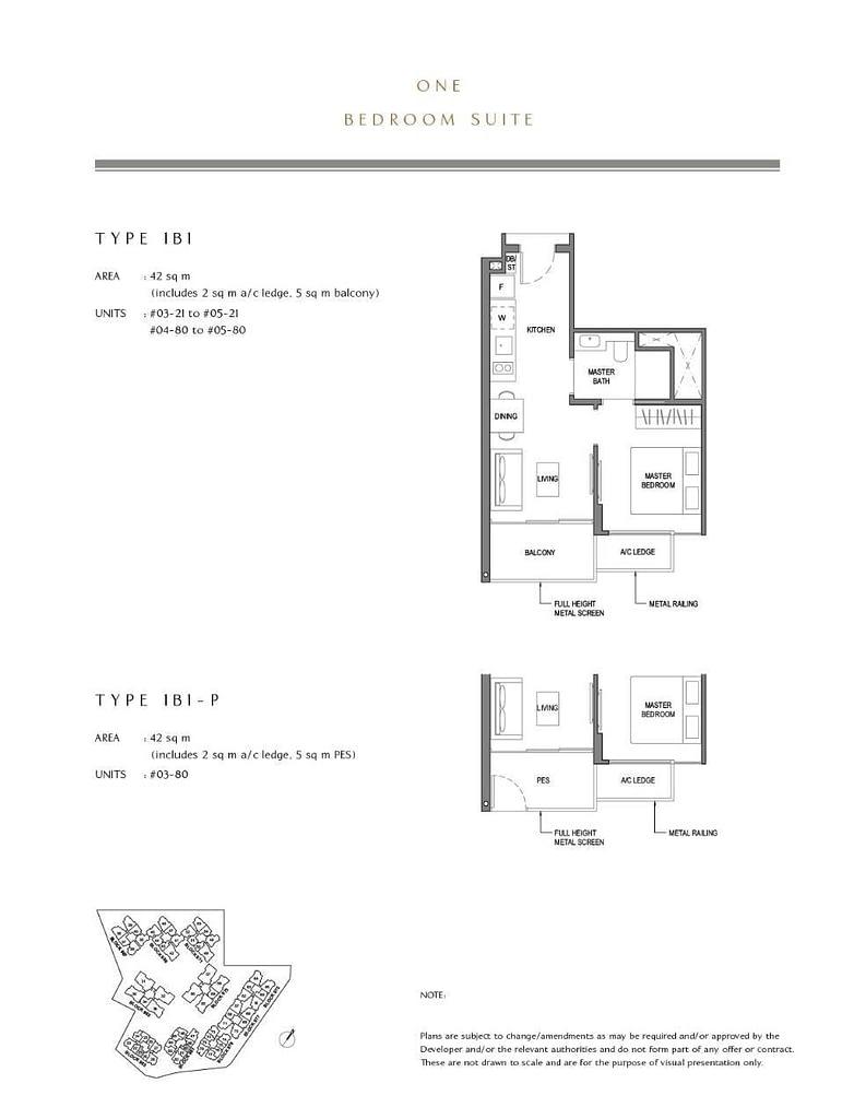 Parc Komo Parc Komo floorplan type 1B1