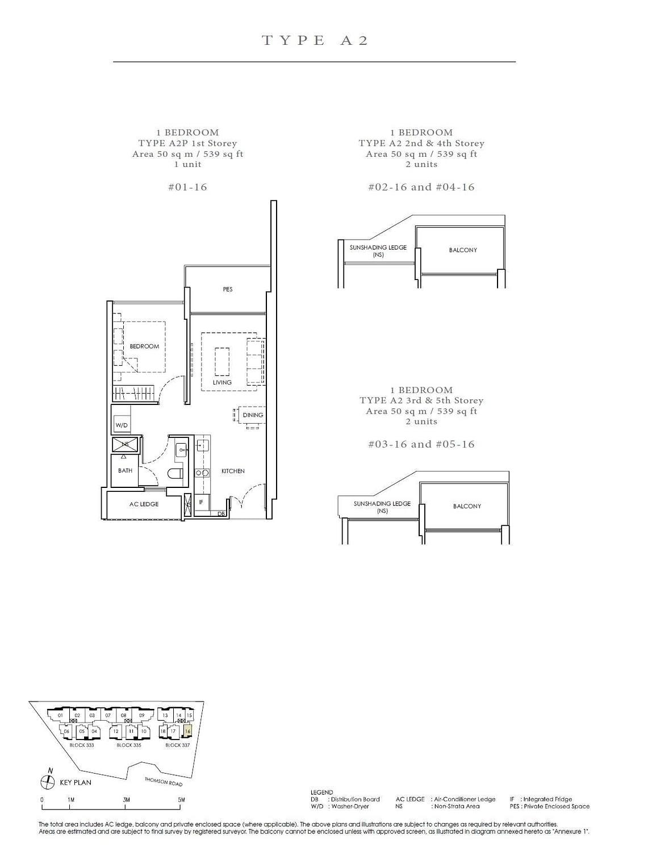 Peak Residence Peak Residence Floorplan A2