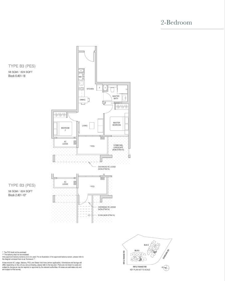Mayfair Modern Mayfair Modern floorplan type B3PES