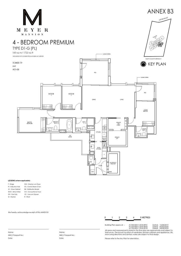 Meyer Mansion Meyer Mansion floorplan type D1 G PL