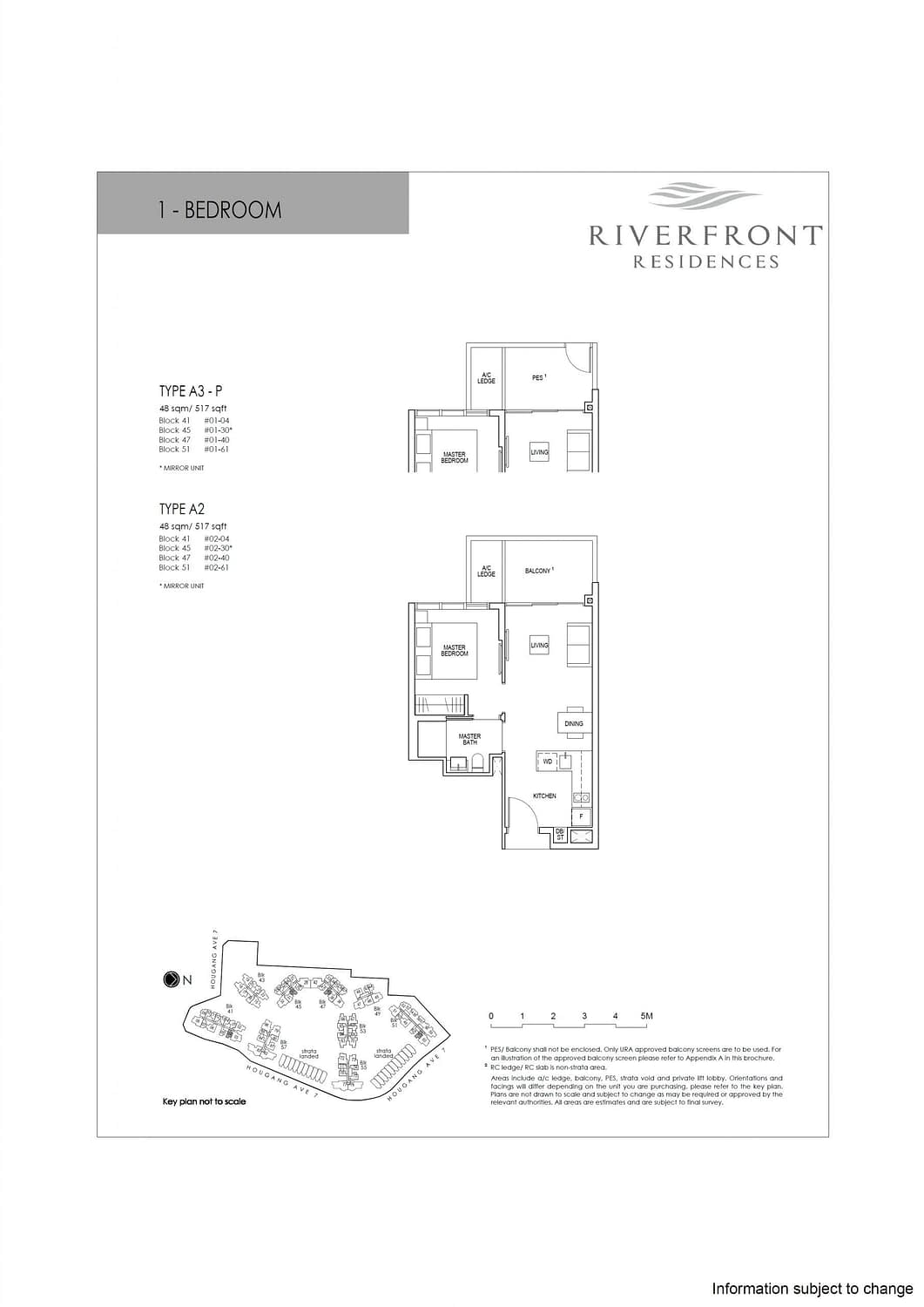 Riverfront Residences Riverfront Residences Floorplan A2 scaled