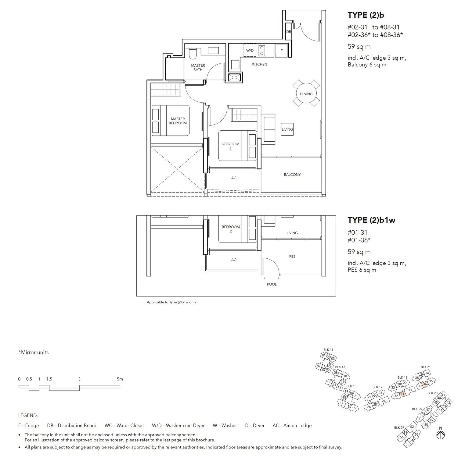 Jovell Jovell Floorplan 2b1w