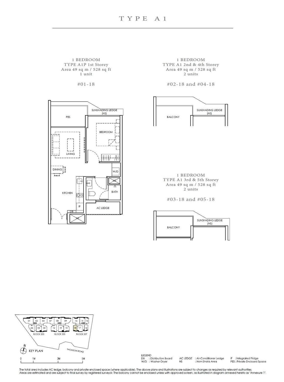 Peak Residence Peak Residence Floorplan A1P