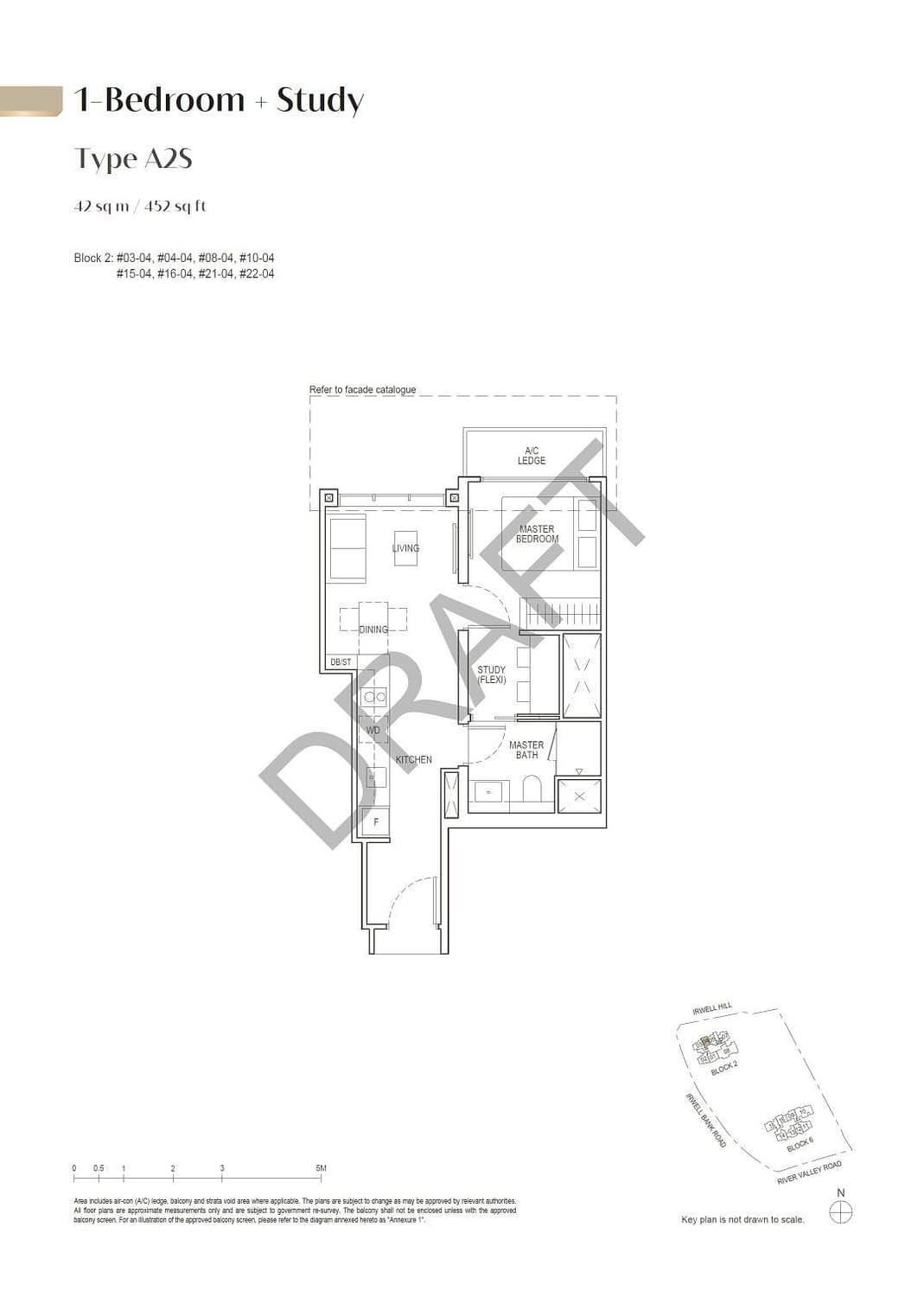 Irwell Hill Residences Irwell Hill Residences floorplan type A2S