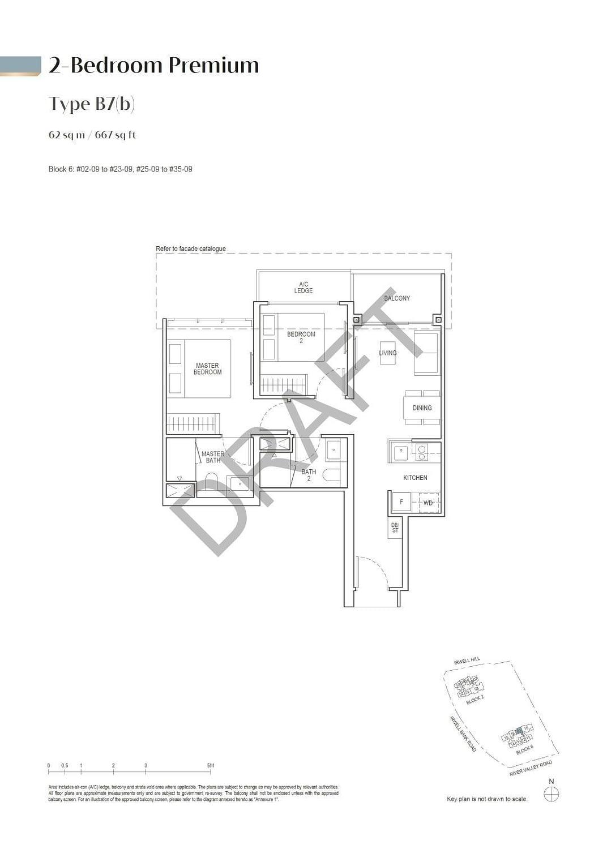 Irwell Hill Residences Irwell Hill Residences floorplan type B7b