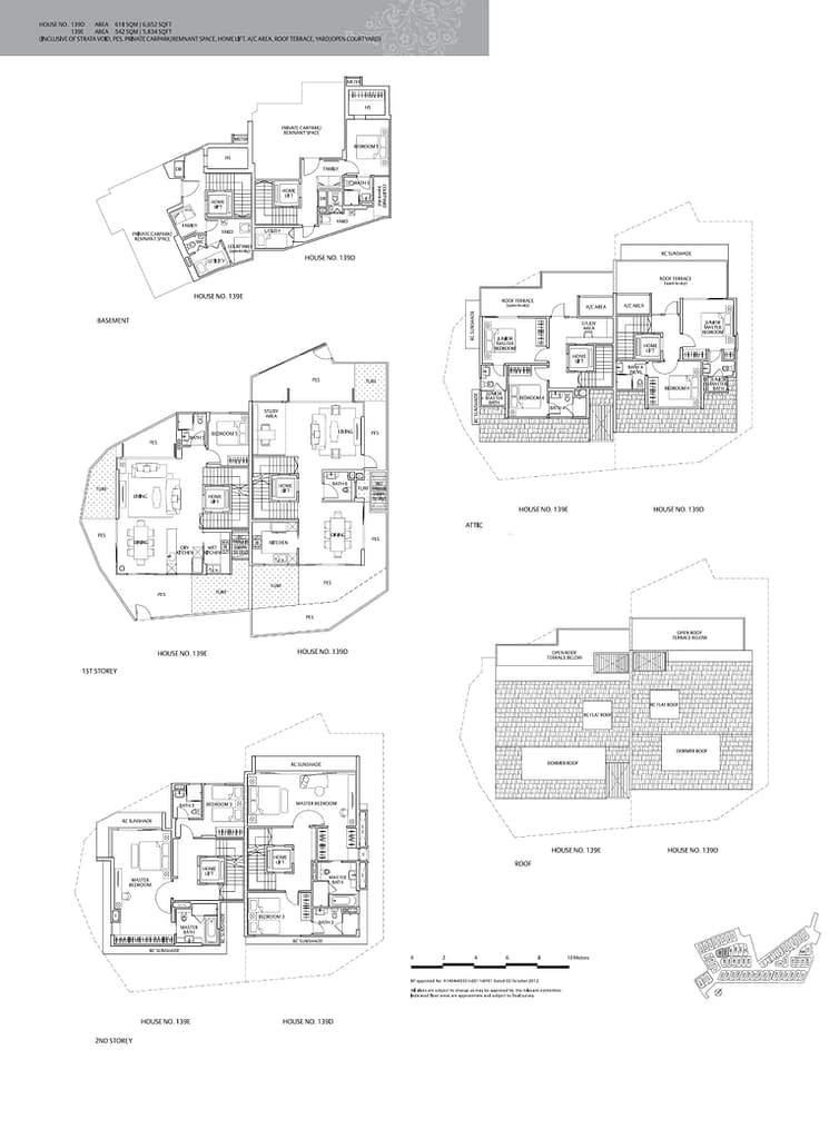 Whitley Residences Whitley Residences floorplan type 139E