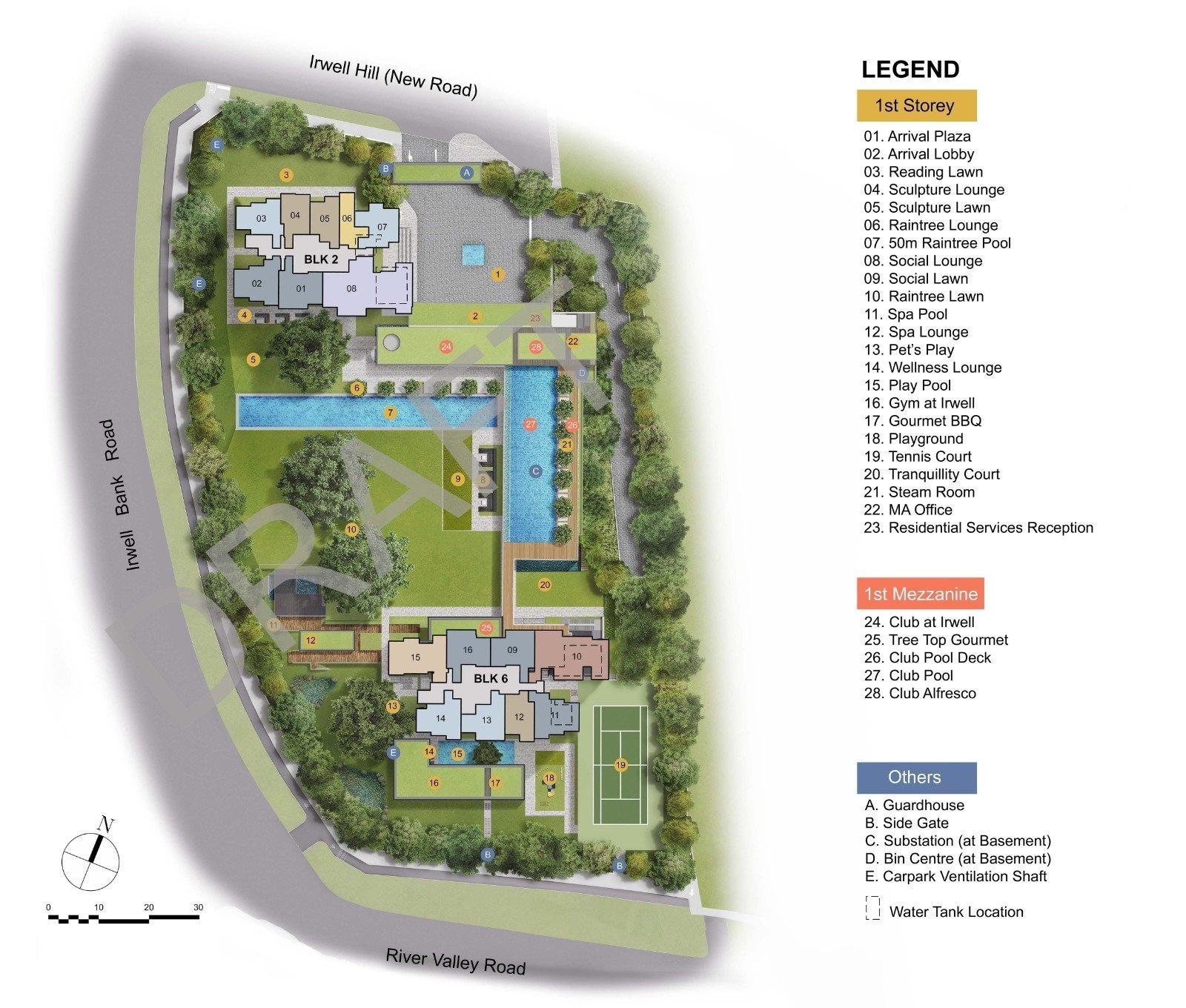 Irwell Hill Residences Irwell Hill Residences Siteplan