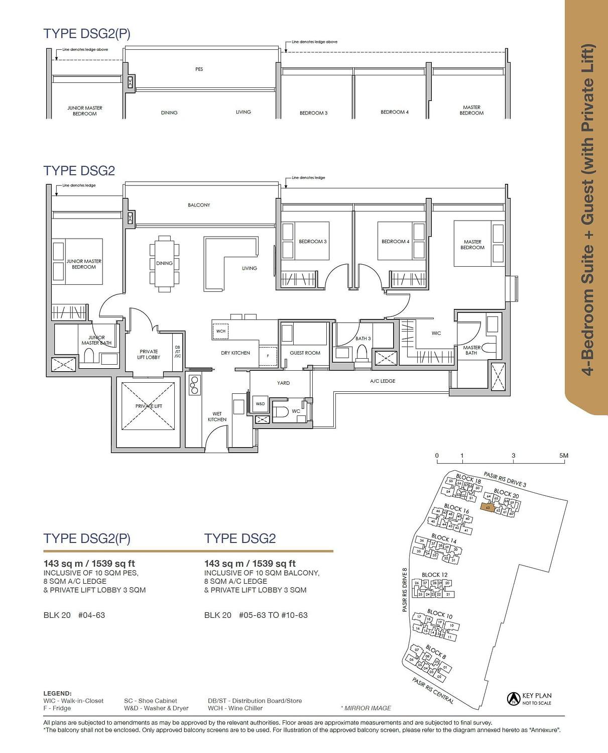 Pasir Ris 8 Pasir Ris 8 Floorplan DSG2P
