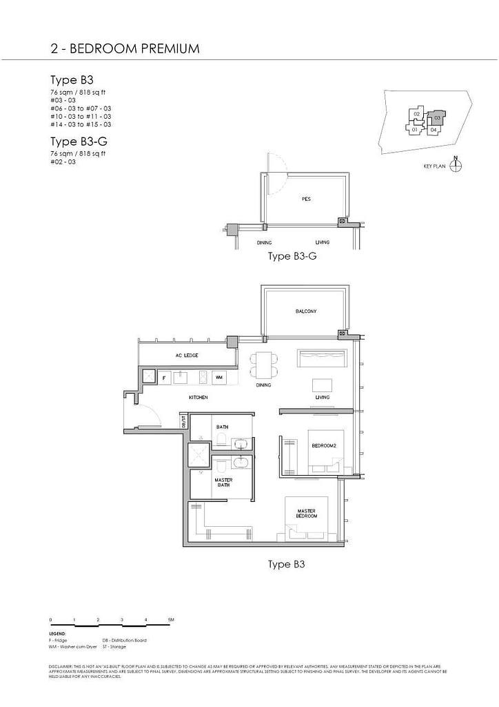 Grange 1866 Grange 1866 floorplan Type B3 G